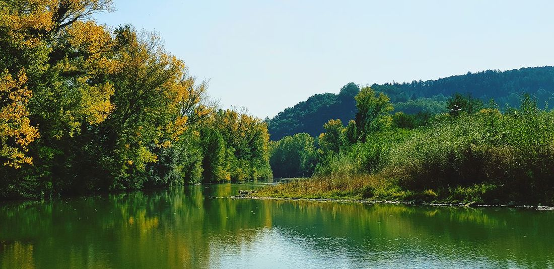 autunno in Umbria Relaxing Relaxing Moments Autunn Autunno Autumn Colors Colori Landscape Paesaggio Autumn colors Autunno🍁🍁🍁 Fogliediautunno Paesaggio Panoramic Photography Panoramic Fiume Fiume Tevere Foglieautunnali Panorama Nature Photography Natura Nature Paesaggio Umbro Umbria, Italy Ponte Pattoli, PG, Umbria Tree Water Lake Reflection Sky Green Color Tranquility Calm Countryside Tranquil Scene