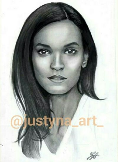 Natural Beauty Portrait Drawing Art Hobby Handmade Blackandwhite Check This Out Habesha Ethiopian Girl