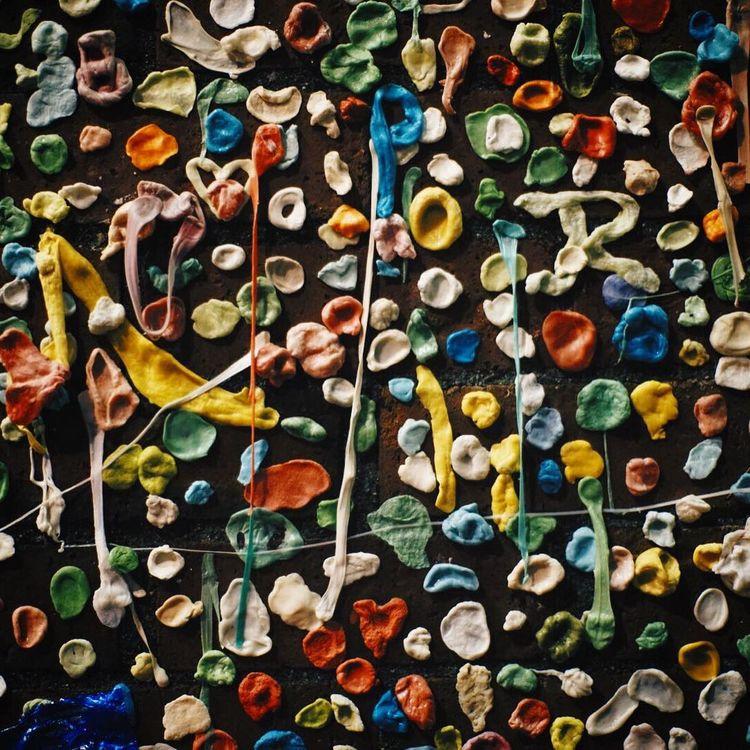 Arrangement Art Chewing Gum Close-up Colors Order Post Alley Seattle Still Life
