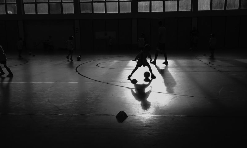 Football match Blackandwhite Bw_collection Light-Play Enjoying Life