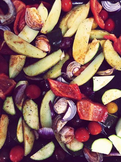 Mediterranean Vegetables Med Life Mediterranean  Food Food And Drink Healthy Eating Vegetable Freshness Prepared Potato No People Close-up Full Frame Food Stories