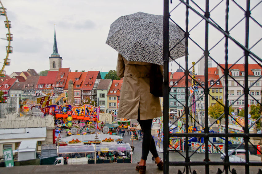 Cityscape Dom Jahrmarkt Postcode Postcards Rethink Things Second Acts Architecture Building Exterior Built Structure City Day Dome Lifestyles Men One Person Outdoors Real People Rear View Sky Women