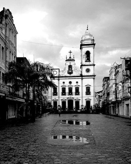 Recife nublado. IngrejaDoLivramento 50TonsdeCinza
