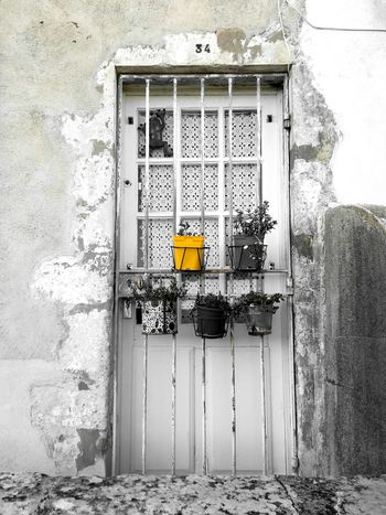 Door Yellow Selective Colour Urban Flowers Huawei P9 Lite Colour Of Life TakeoverContrast Paint The Town Yellow
