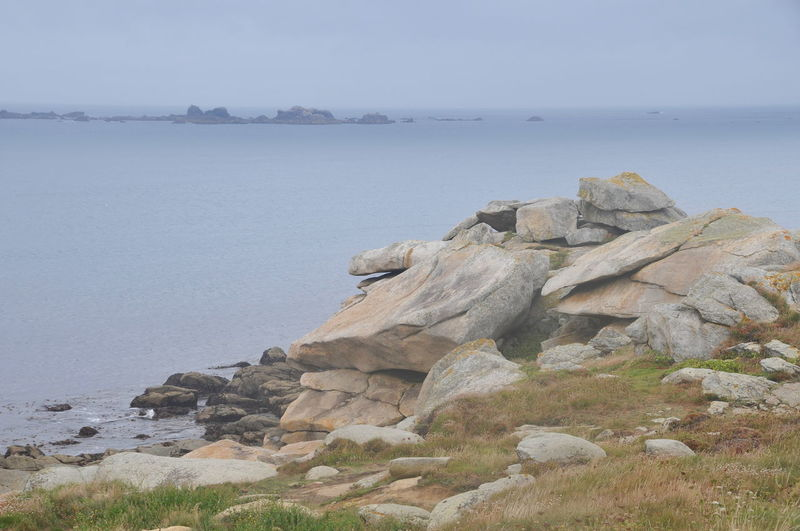 Bretagne France Beach Beauty In Nature Day No People Rock Rock - Object Rock Formation Rocky Coastline Scenics - Nature Sea Water