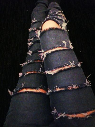 ripped jeans and broken dreams