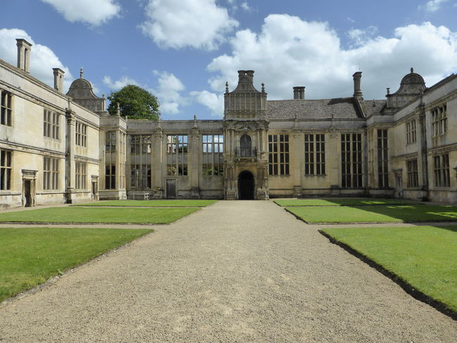 Architecture Building Exterior Built Structure Courtyard  Famous Place Historic History Kirby Hall