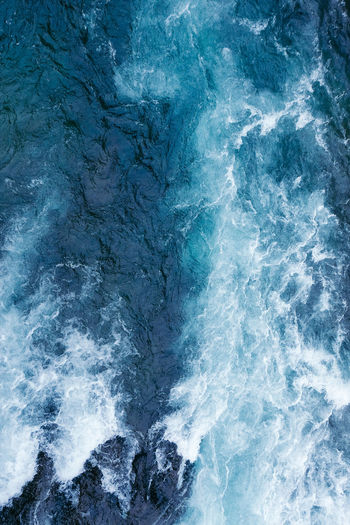 Abstract Backgrounds Beauty In Nature Blue Close-up Day Full Frame Nature No People Outdoors Scenics Sea Textured  Water Wave