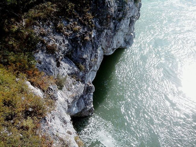Rock Formation Nature Rock - Object Beauty In Nature Sea High Angle View No People Water Day Outdoors Cliff Scenics Wave Rock Face