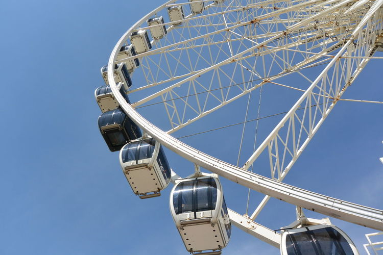 Amusement Park Ride Blue Blue Sky Enjoyment Eye4photography  Ferris Wheel From My Point Of View Fun Low Angle View Nikon No People Outdoors Purist In Photography The Purist (no Edit, No Filter)