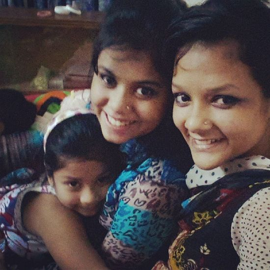Le  Sisters Subha Luthfa girls instashare cousinlove instalike