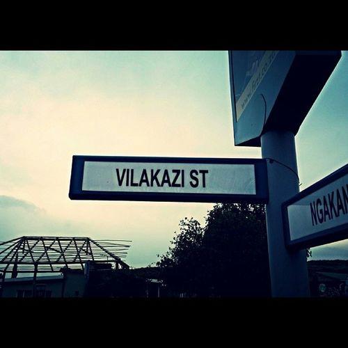 VilakaziStreet History Nelsonmandela  DesmondTutu SouthAfrica Soweto Phifeni BeautifulDay :)