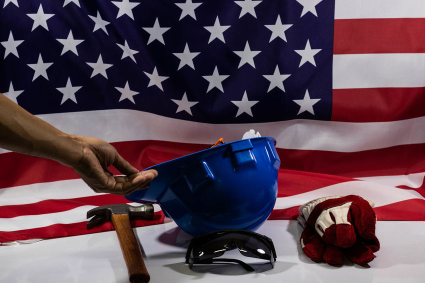 Labor Day Labor Day Weekend Labourer USA USA FLAG Work Working Hard America Flag Government Hand Labor Laboratory Laboratory Work Labour Labour Day Labourday Work Tool