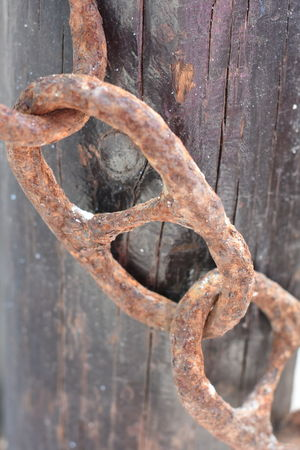 Link Linked Linked Chains Rusty Links Rust Nautical Boating Links Metal Link Chains Chain Marine Boats Boat