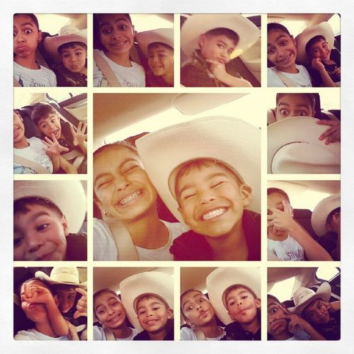 My crazy cowboy cuzin and I Fierce Wegotswagg Cousinlylove ♡