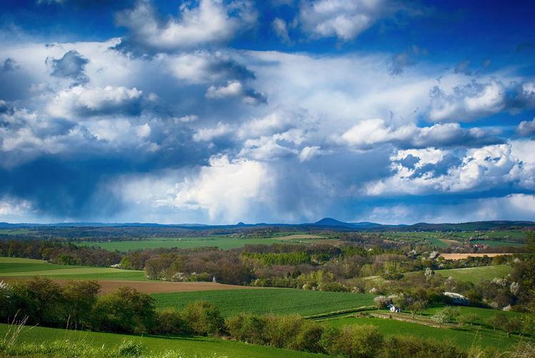 Beauty In Nature Cloud - Sky Czech Republic Czechrepublic Kokorin Landscape Nature No People Outdoors Rural Scene Scenics Tranquil Scene Tranquility