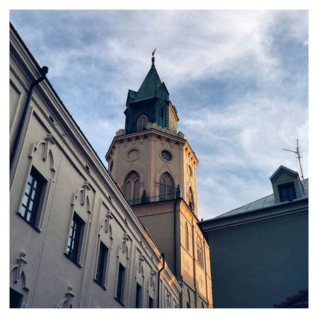 Lublin Lubiepolske Lublin Lublin City Lublin Poland Lubelskie Poland City Town Oldcity Oldtown Downtown Square Sunset