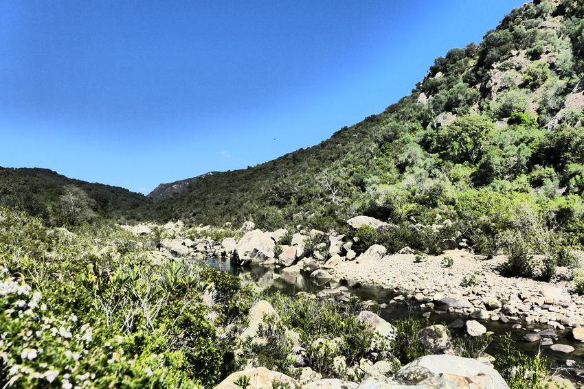 Andalucía Countryside Jimena De La Frontera Mountain River Rugged