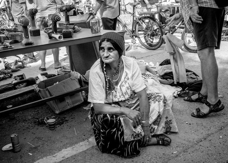 Smoking Street Vendor Woman B&w Bazar Black&white Candid Day Gipsy Mono Monochrome One Person Outdoors People Real People Retail  Stradal Street Street Photography Streetphoto_bw Streetphotography Vendor