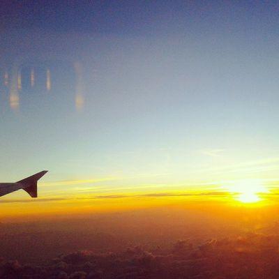 sunday morning Sunrise Landscape Skymadness Sky Instasky Instasunrise Sunday Instanusantarabali Airasia Jet Flight Jet Wings Plane Aeroplane Instanusantara Instanesia Igers Instaflight Bali Kualalumpur INDONESIA LangitbaliPhotoworks