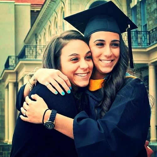 Graduation Collegelife College Graduate IU immaculata classof2014 sisters finallydone realworld