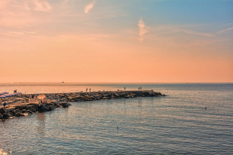 Mediterranean  Mediterranean Sea Nature Sky And Clouds Animal Themes Beauty In Nature Cloud - Sky Day Horizon Over Water Nature No People Outdoors Scenics Sea Sea And Sky Sea Life Seascape Seaside Sky Skyscraper Stone Sunset Tranquil Scene Tranquility Water