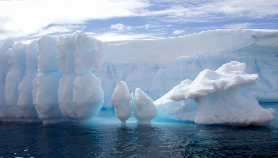 Antarctic views Antarctic Peninsula Antarctica Beauty In Nature Cold Day Iceberg Iceberg - Ice Formation Icebergs Nature No People Outdoors Snow