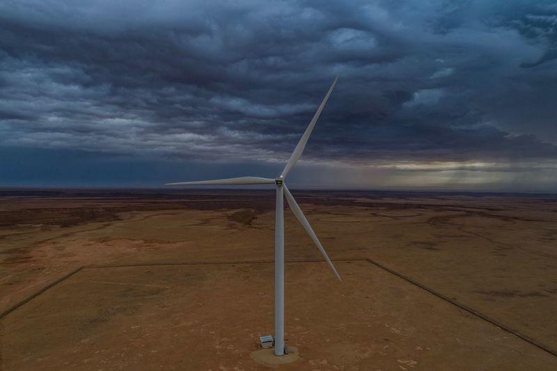 Wind turbine in