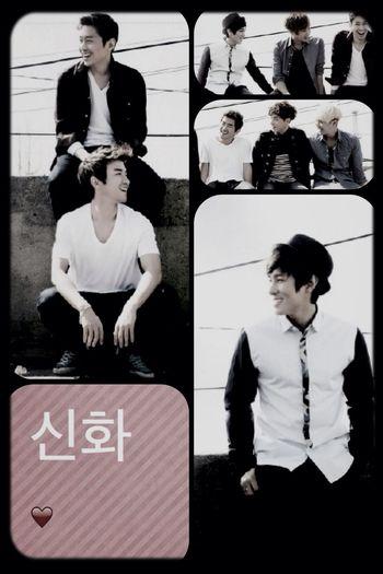 G.O.D Shinhwa Eric Minwoo Hyesung Dongwan Junjin Andy