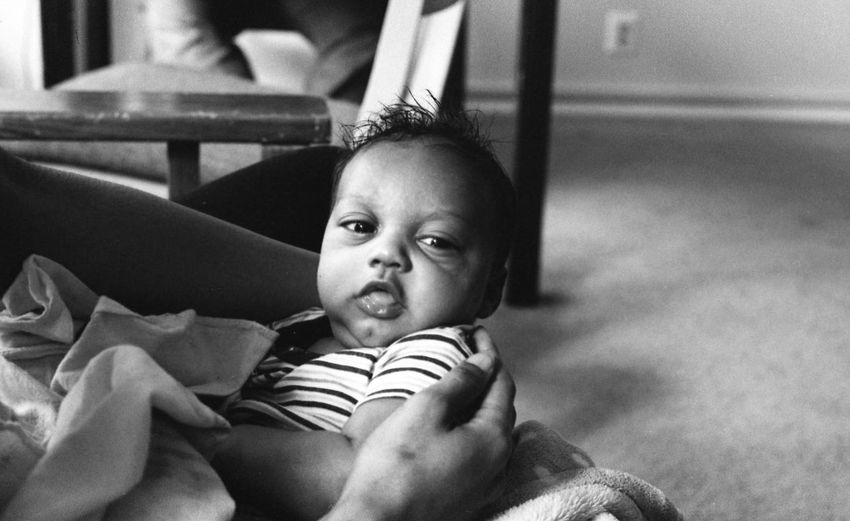 """""""Zaheer"""" by Kesi J. Marcus Babies Only Baby Babyhood Childhood Close-up Cute Day Film Photography Happiness Home Interior Indoors  Innocence Looking At Camera NewBorn Photography One Person People Portrait Real People"""