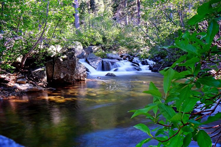 Waterfall Water Nature Lake Tahoe