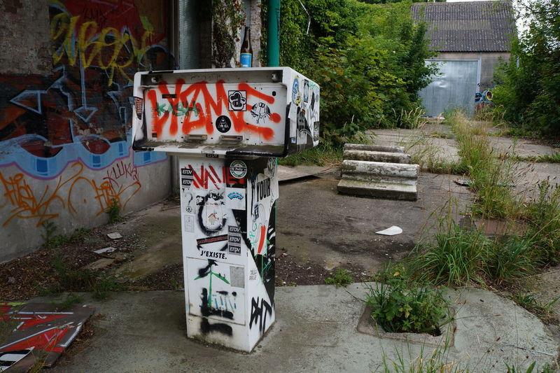 Doel Belgium Doel België Graffiti Ghost Town
