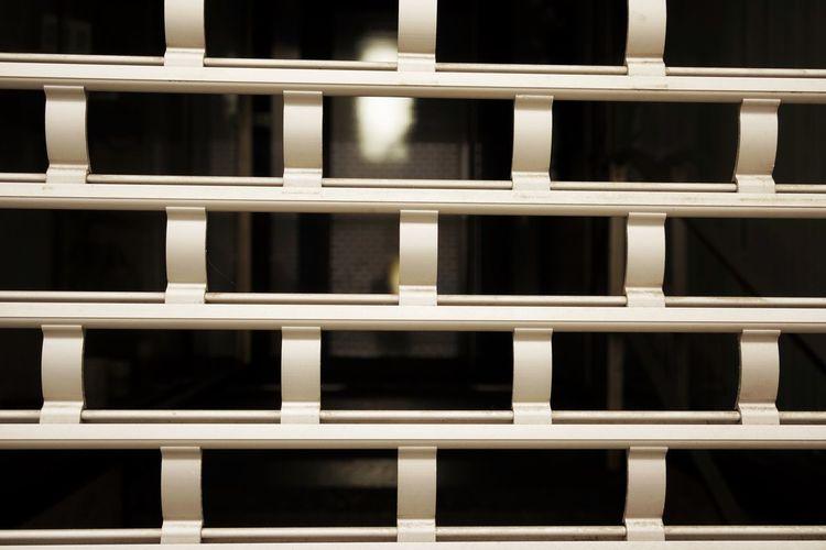Full Frame Shot Of Metallic Grate