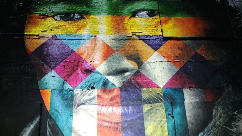 Multi Colored Graffiti Painted Image Close-up Outdoors KobraStreetArt Art Is Everywhere ArtWork Local Culture Localscene Explore City Arts Culture And Entertainment Travel Destinations Support Your Local Artist