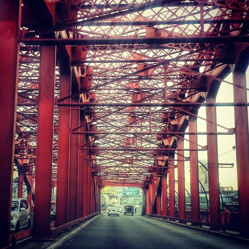 Quezon bridge Onmywaytowork Manila Philippines