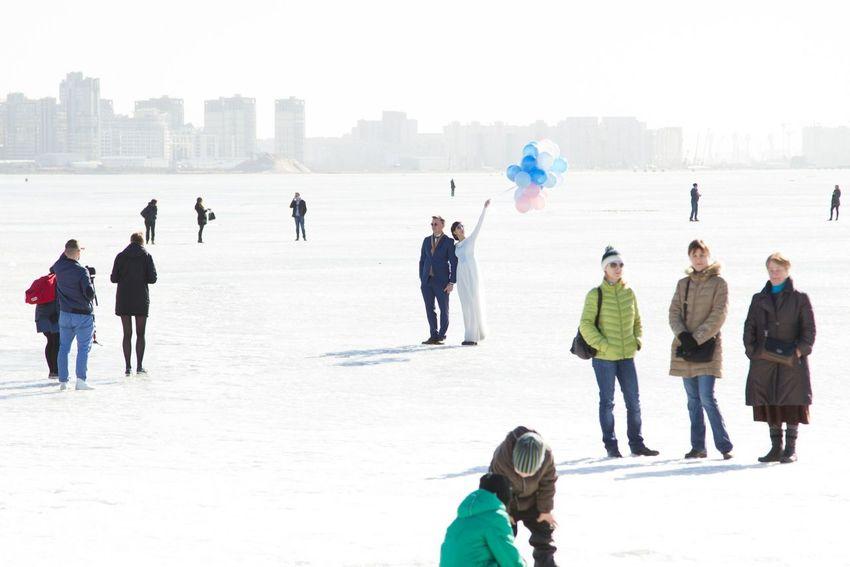 Санкт-Петербург шарики прогулка лед Alexxx Strelkovv Финский залив Street Photography Alexxx Strelkovv Sea берег