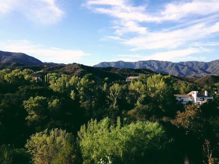 Scenic View in Canyon Country Santa Clarita Hills California Losangeles Nature IPhoneography