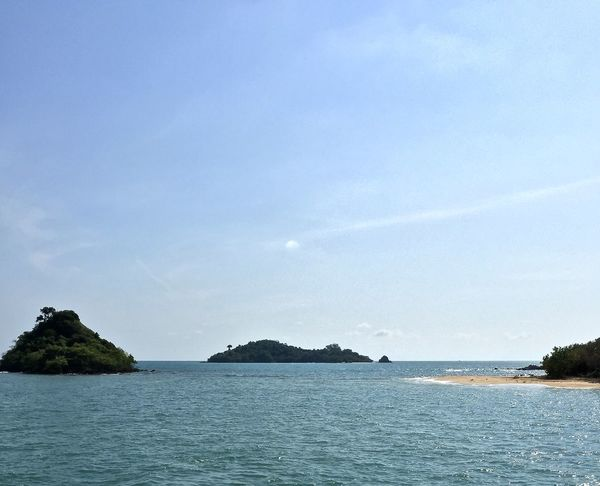Beauty In Nature Blue Coastline Copy Space Day Horizon Over Water Idyllic Nature Non-urban Scene Outdoors Remote Rippled Scenics Sea Seascape Sky Spotted In Thailand Tranquil Scene Tranquility Water Waterfront