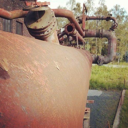 Coking Industry Dortmund Kokerei_Hansa Rusty_pipe Rust Pipe