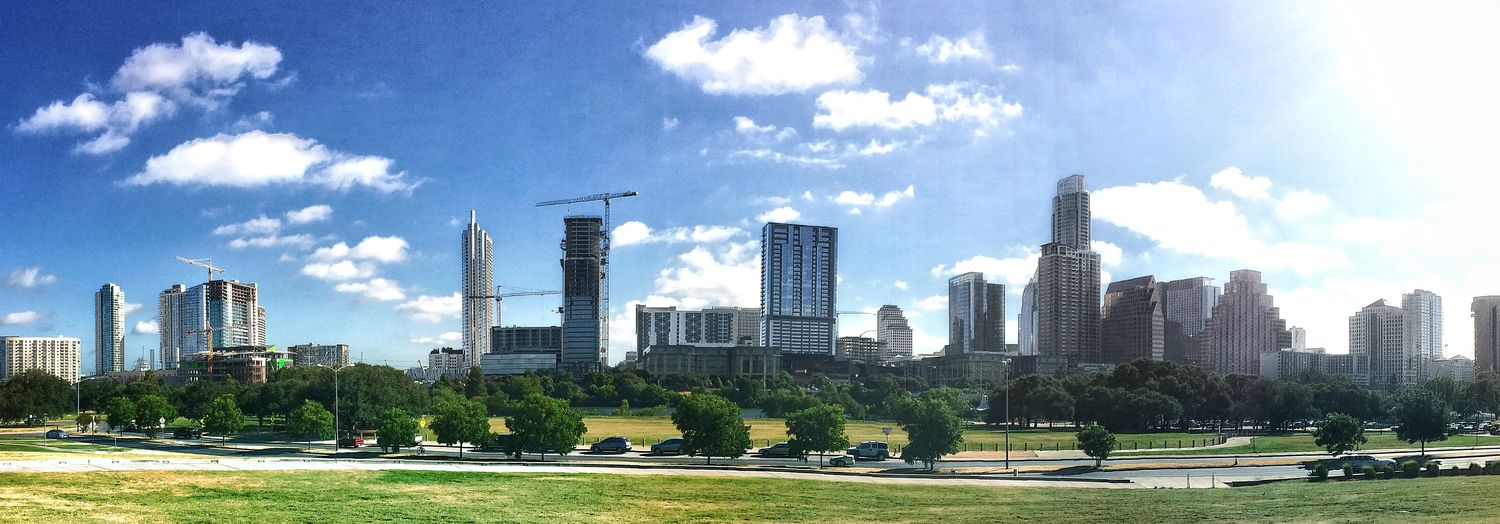 Austin Texas From way over yonder. Austin Out standing in my field IPhoneography Cityscapes Architecture EyeEm Best Shots Taking Photos Enjoying The Sun Beautiful Day Enjoying Life