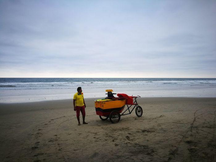 Ecuador Montañita Beach Beachphotography Beach Life Beach View Man Alone Sommergefühle 100 Days Of Summer