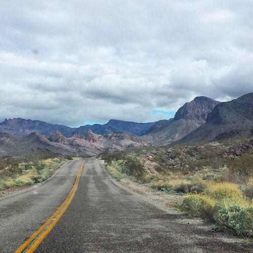 Get your kicks on Route 66. Oatman Arizona Oatman Arizona The Great Outdoors - 2016 EyeEm Awards Traveling Wanderlust Windshield Shots