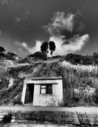 Dorset7 Deserted Scapes Old Shed Sky And Clouds Architecture B&w B&w Photo B&w Shed Beauty In Nature Beauty In Nature Brick Building Brick Buildings Building Exterior Built Structure Cloud - Sky Deserted Places Growth Hillside No People Old Buildings Old House Old Ruin Old Shack Scenics Sky Tree