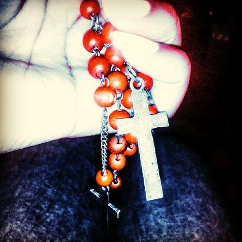 Redrosary Representationofhispureblood Faith Godwillgetmethrough cross