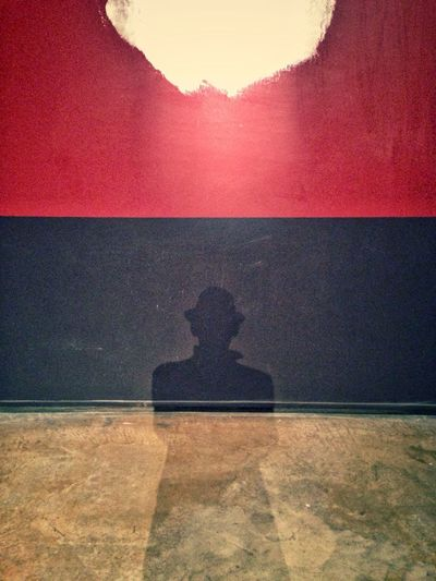 Tâche d'être toi même Shadow Architecture One Person Illuminated Colorful Art Is Everywhere Selfportrait