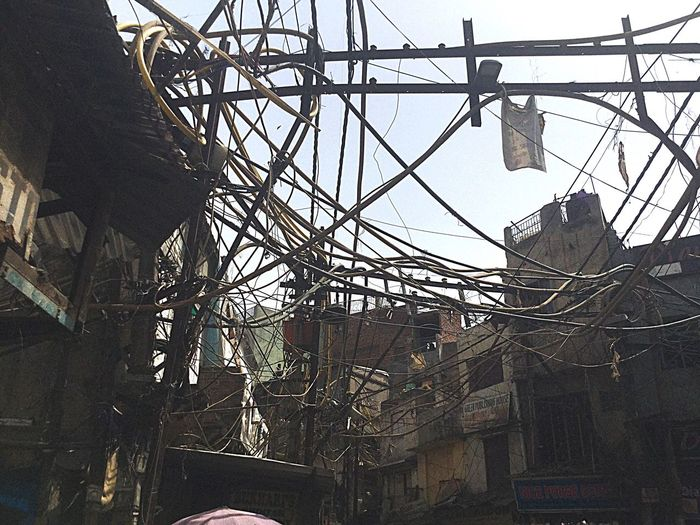 Old Delhi Built Structure Architecture Day Low Angle View No People Outdoors Building Exterior Sky Problem India Puranidelhi