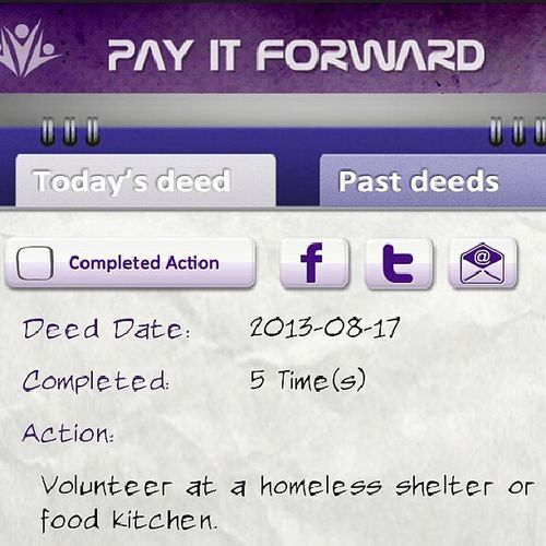 Have you visited the Pay It Forward Corpus Christi site on Facebook? You can also download the free PIF App for your phone. Play the game of kindness. Pif Pifcc Kindness