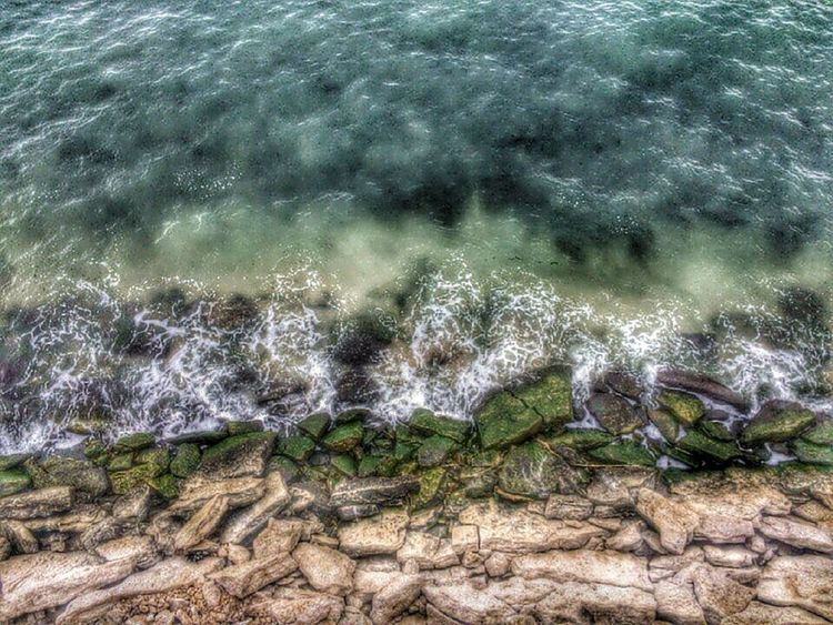 Water Sea Ocean Day Wather Water Sea High Angle View Nature Shore Rippled Wave Ocean Tranquility Seaweed Day Outdoors Seascape Pebble Beauty In Nature Non-urban Scene Tranquil Scene Tide Scenics Water Surface