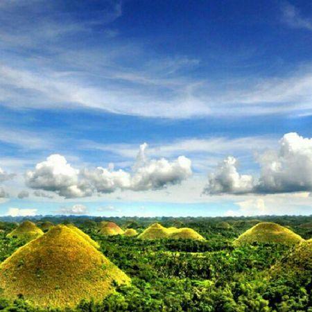 i miss bohol :) Bohol Clouds Sky Chocolatehills nature scenery lovely