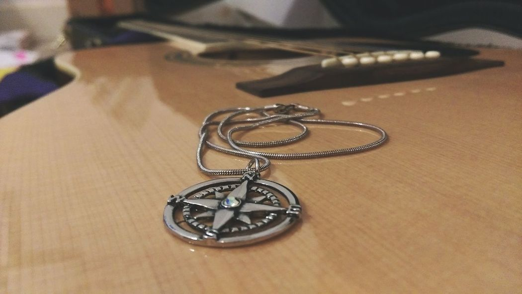 Simplicity Love ♥ Complexity Simple Guitar Musician LoveLife❤️ Bestill Compass Rose  Compass Life Necklace Hipster Life  Urban